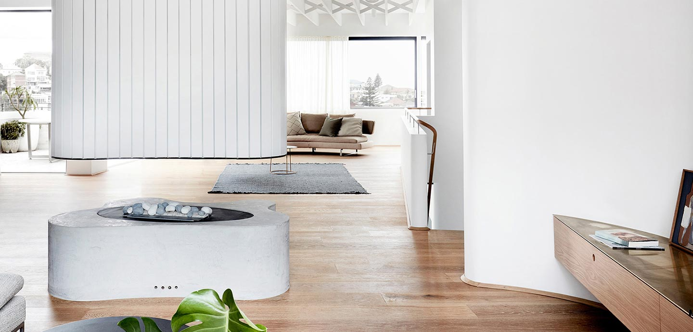 Tama's Tee Home by Luigi Rosselli Architects in Sydney, Australia - modern interior