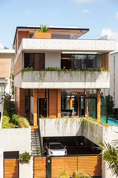 Luxury house impresses through its seductive simplicity 0 designed by Aamer Architects