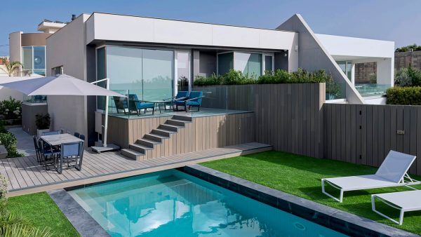 Modern home in Malta by MJMDA with amazing outdoor area