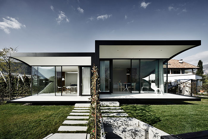 Mirror Houses - contemporary vacation homes by Peter Pichler Architecture