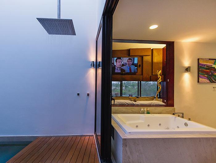 PL2 House Modern bathroom design by Seijo Peon Arquitectos y Asociados