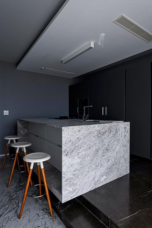 Modern home in Malta with beautiful kitchen design