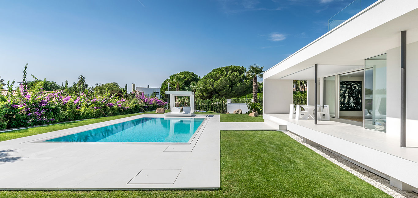 From grandma's house to a gorgeous Mediterranean-inspired modern residence near Barcelona with incredible pool area