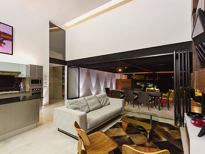 PL2 House Modern interior by Seijo Peon Arquitectos y Asociados