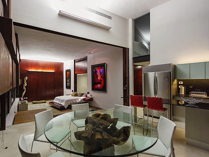 PL2 House Modern interior in lakeside house Yucatan Mexico by Seijo Peon Arquitectos y Asociados