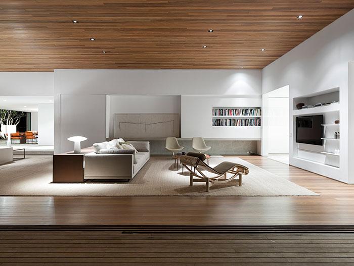 Modern interior design in amazing Casa Itu, Sao Paulo, Brazil