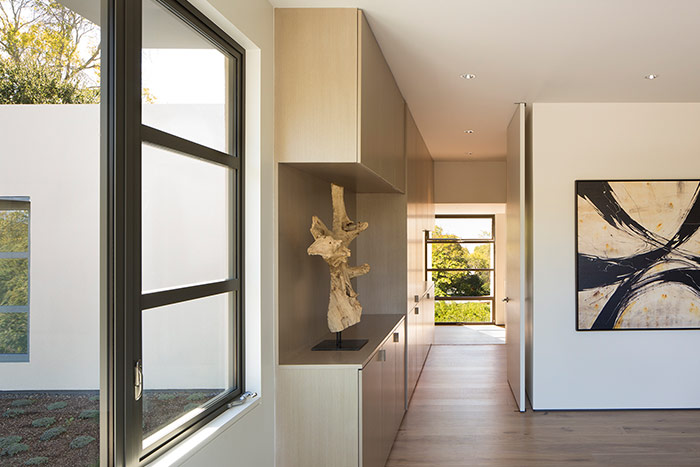 Lantern House modern interior by Feldman Architecture - modern Palo Alto, California home