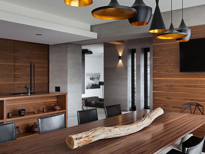 Incredible modern kitchen in luxury home in Dnepropetrovsk, Ukraine by NOTT Design studio