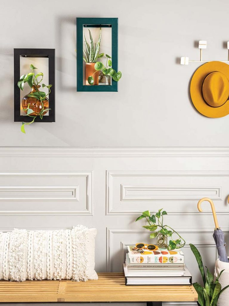 Modern Sprout's Smart Growframe - modern entryway decor