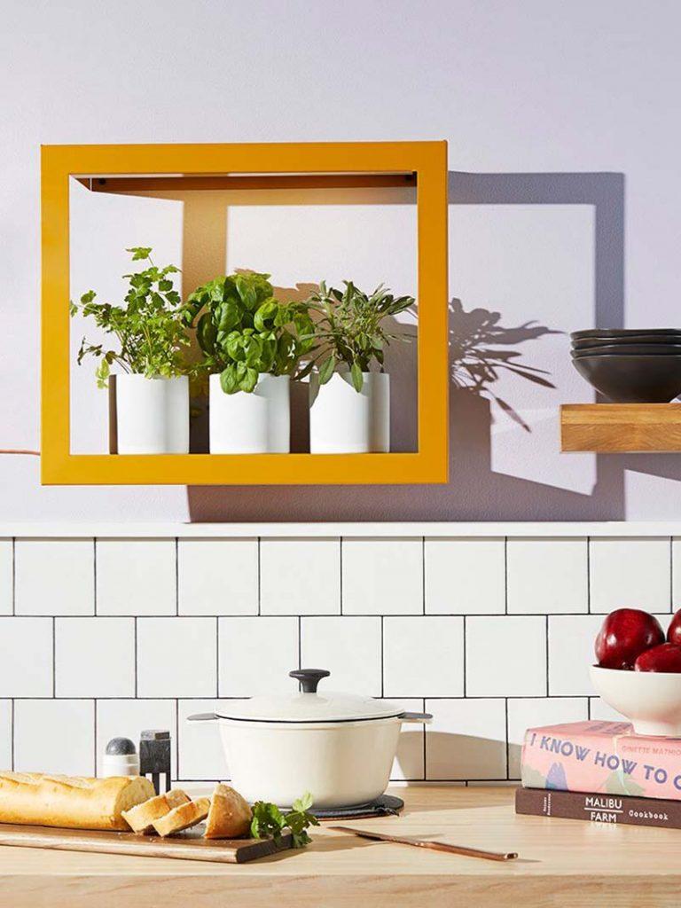 Modern Sprout's Smart Growframe - modern kitchen decor