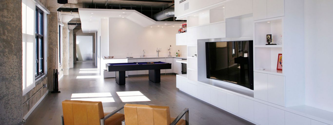 From bachelor pad to family home: Modern twin loft in downtown Los Angeles by CHA:COL