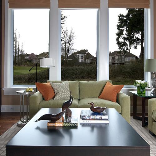 Morgan Creek Residence Contemporary Living Room