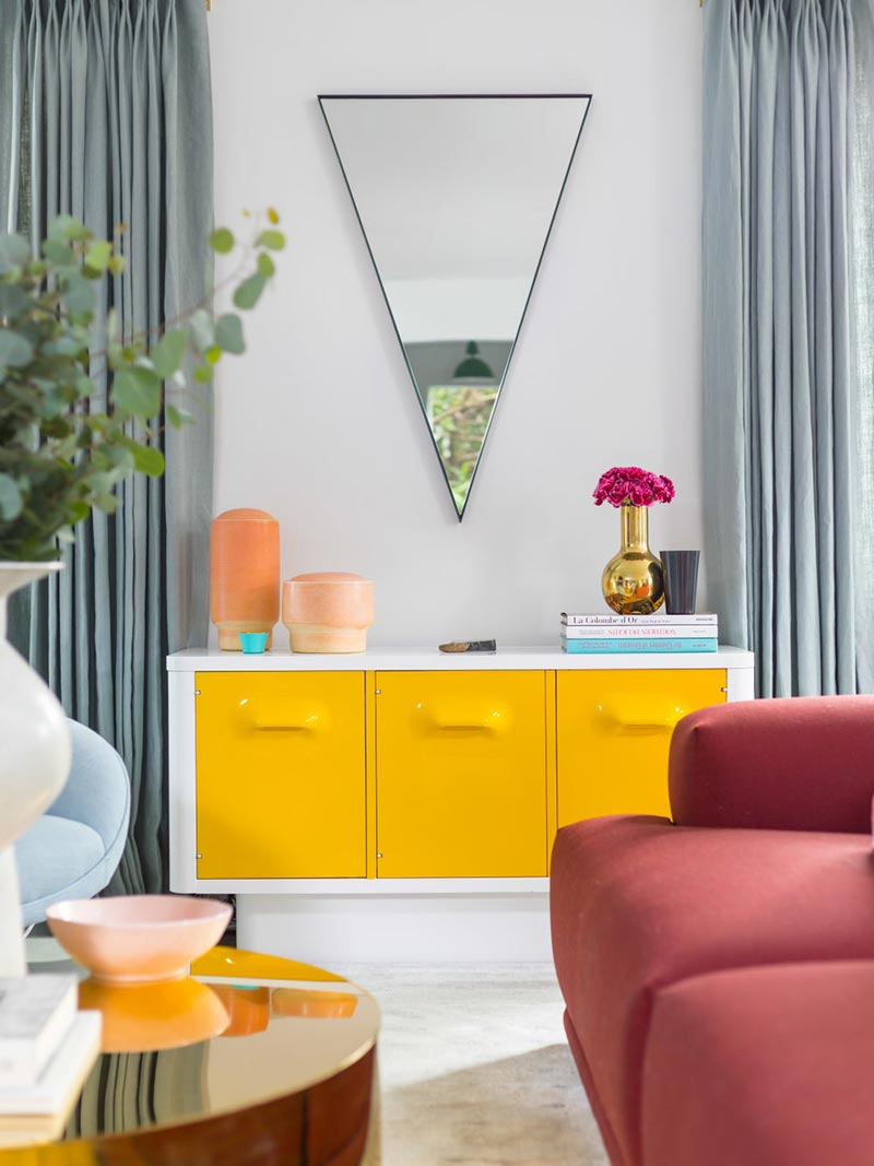 Mirrors are great accessories that any living room should have