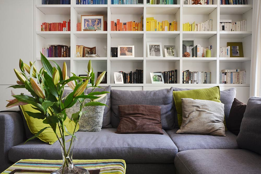Include personal items to add character to your living room