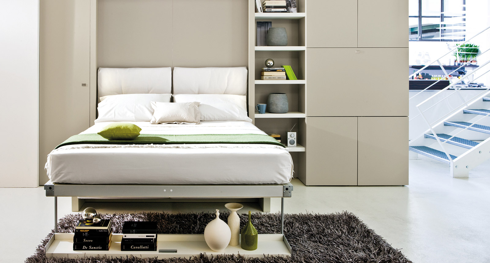 Nuovoliola 10 Murphy Bed By Clei