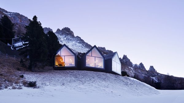 Oberholz Mountain Hut offers great Italian food and stunning views