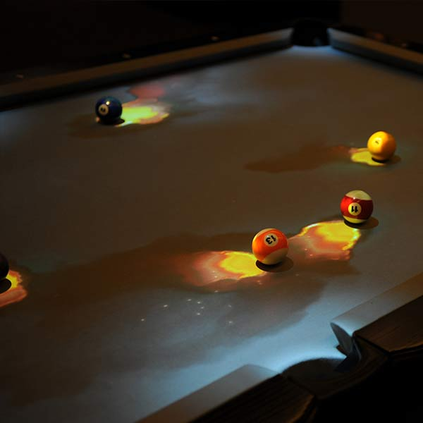 Obscura Cuelight Interactive Pool Table