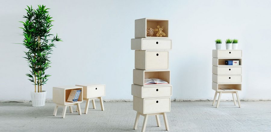 Otura Basic: A modular furniture system by Rianne Koens