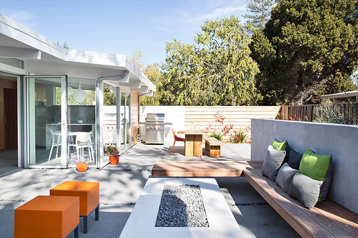 Palo Alto house gets modern renovation and new luxurious outdoor area