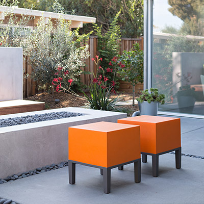 Palo Alto house gets modern outdoor area