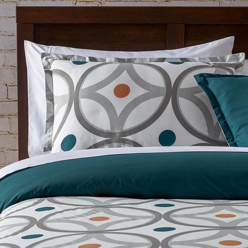 Pembo Copper modern bedding set