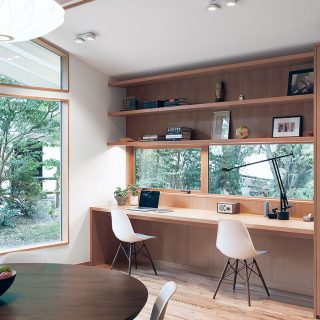SHED Architecture remodel an outdated 1967 house to a modern residence for a young couple