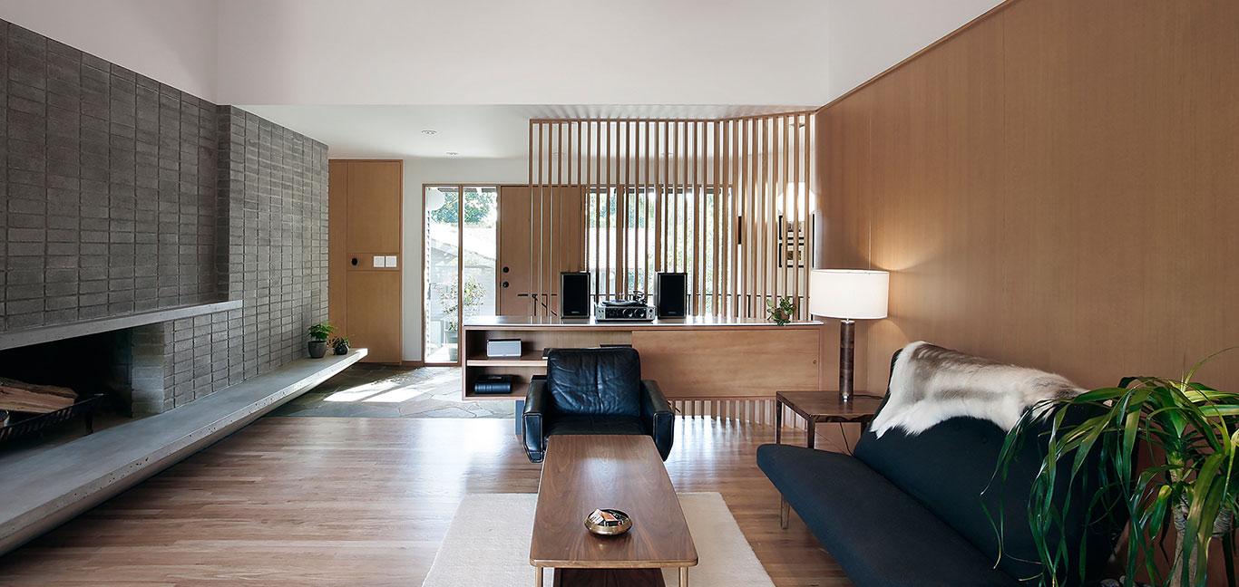 Modern living room design by SHED Architecture - Kirkland's  Bridle Trails residence