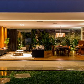 This single-family house near Sao Paulo was inspired by Brazilian modernism