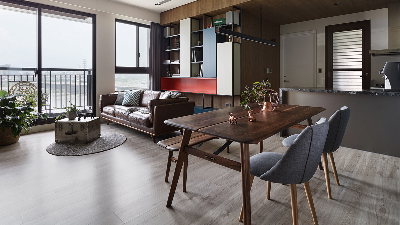 Small home located in New Taipei City, Taiwan for a young family