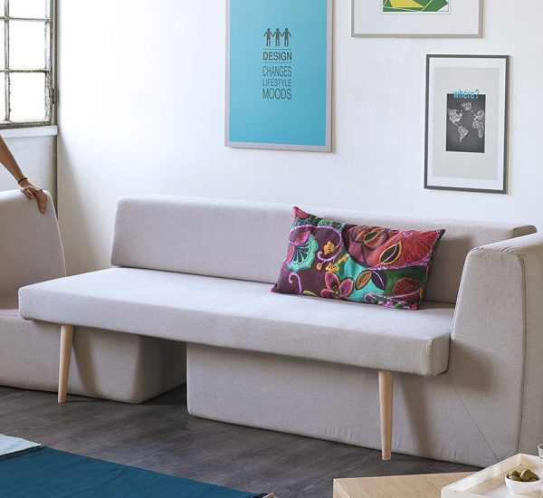 Modular Sofa By Fabrizio Simonetti For Small Living Room