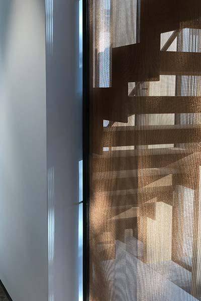 Modern staircase in a spacious German home