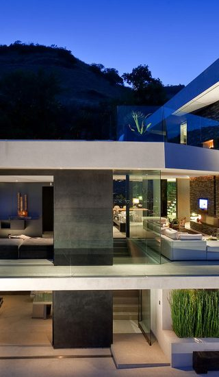 Spectacular Hollywood Hills mansion: Openhouse by XTEN Architecture