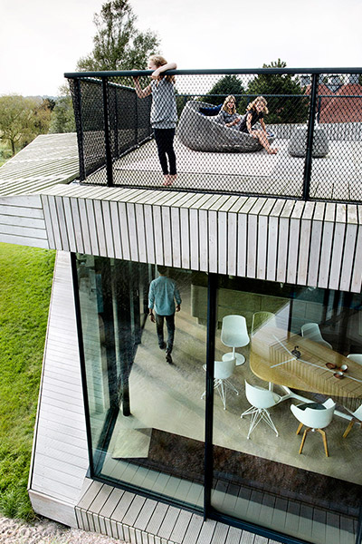 Spectacular two storey smart home in Noord-Holland, The Netherlands