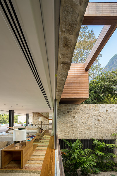 Stunning modern house in Rio de Janeiro, Brazil with spectacular nature views