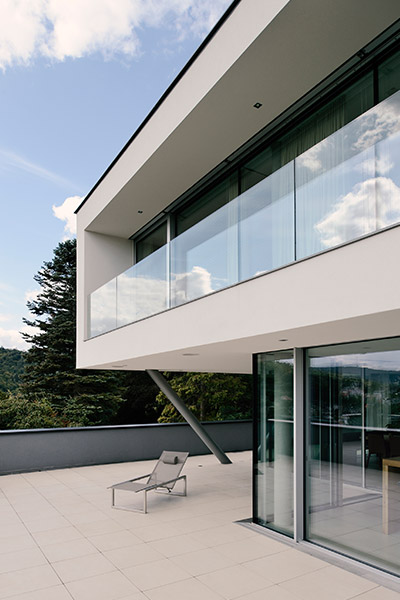 Stylish, low-energy villa near Vienna with spectacular views by azb