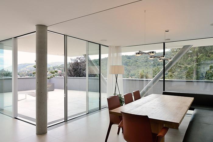 Stylish villa in Vienna with spectacular views - design by Architekt Zoran Bodrozic