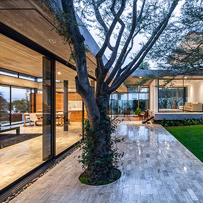 Spectacular single-family house by Gabriel Rivera Arquitectos