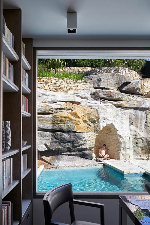The Books House designed by Luigi Rosselli Architects - located in Sydney, Australia