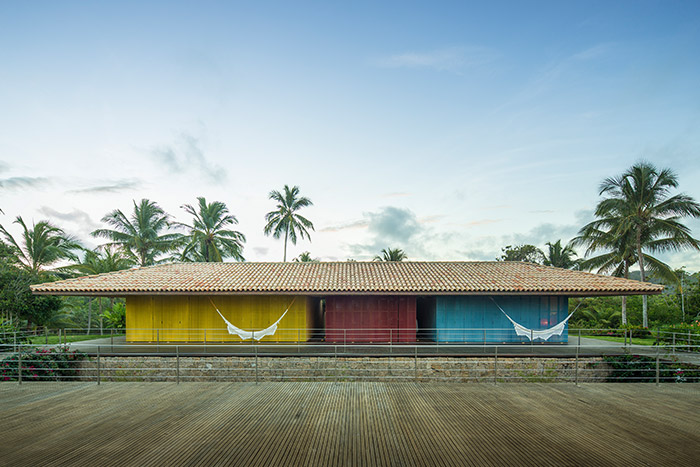 Txai House by Studio MK27 modern home near beach in Itacare, Brazil