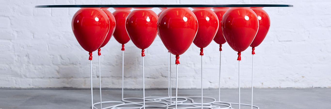 Up Balloon Red Color