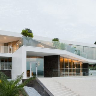 Villa V - spectacular contemporary house in Sochi, Russia - architecture and interior design by Alexandra Fedorova