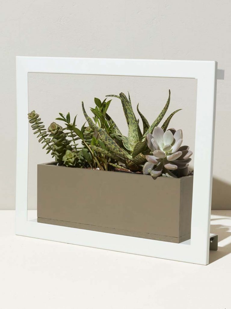 White and stylish Smart Growframe by Modern Sprout - white color