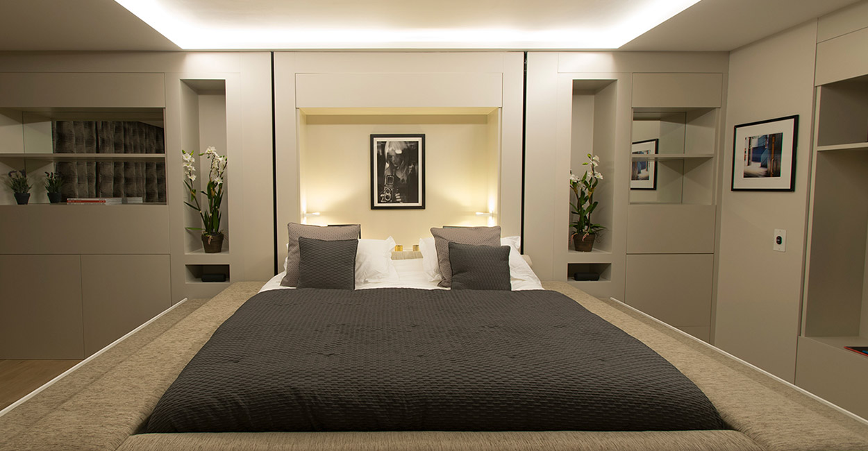 YO! Home ceiling bed design